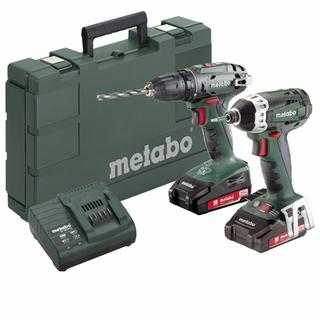 METABO Combo Set 2.1.7 (685080000)-BS 18 +SSD 18 LTX 200 Δραπανοκατσάβιδο μπαταρίας