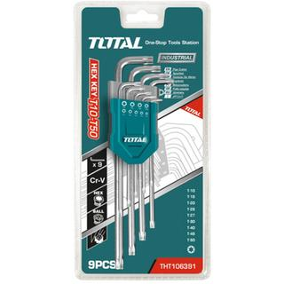TOTAL THT106392 Σετ TORX 9 τεμαχίων